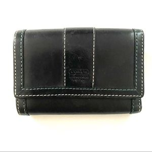 Coach Leatherware Trifold Wallet